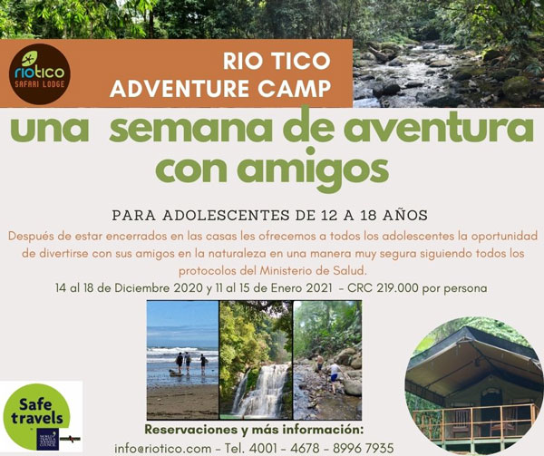 Youth adventure camp